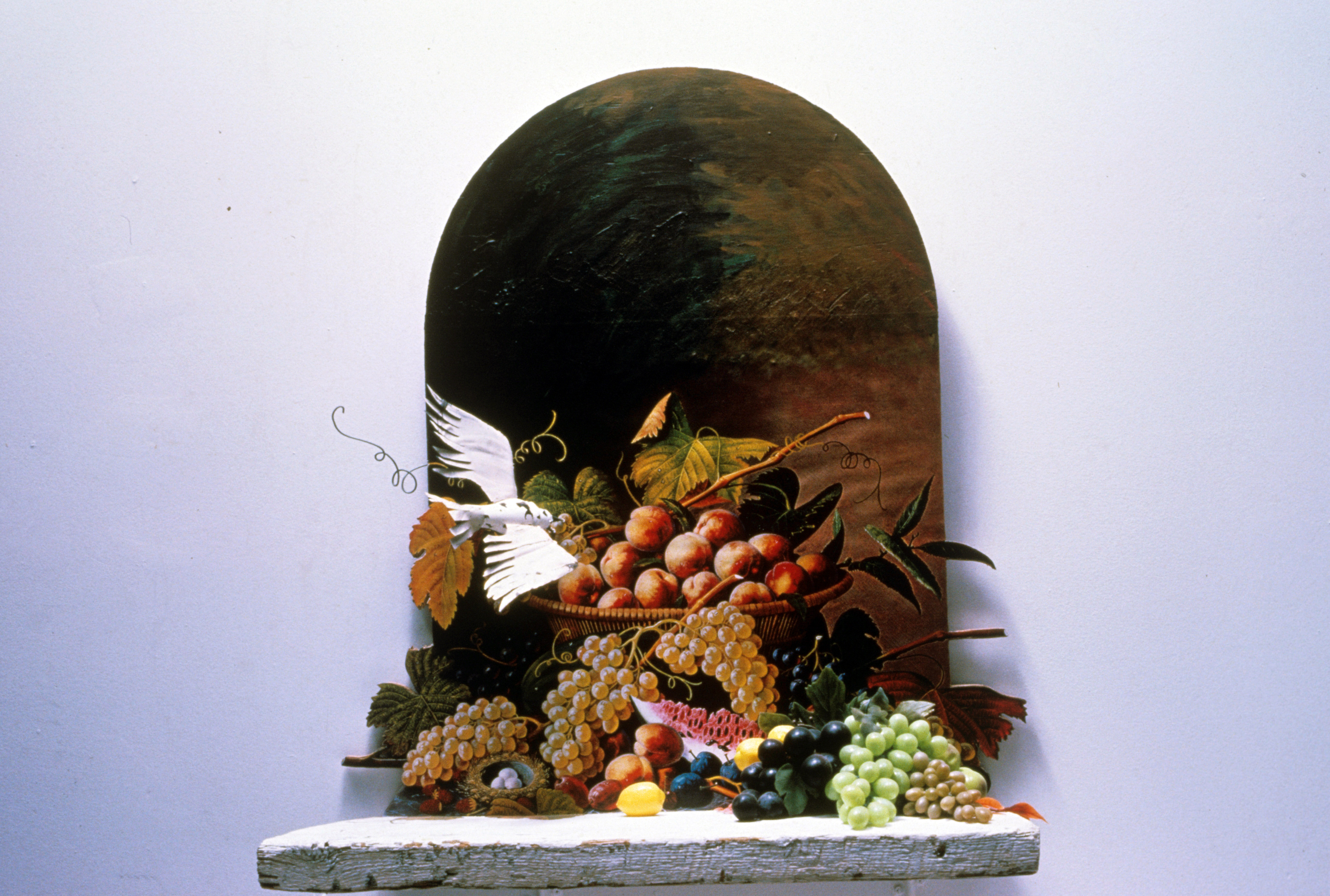 Still Life with Bird and Fruits