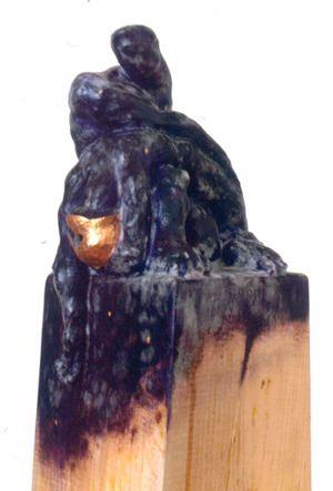 Purple Pieta